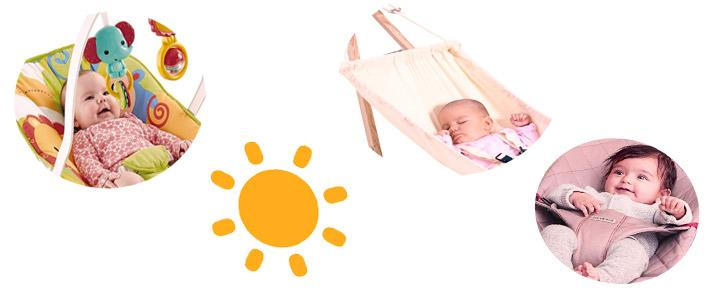 Hamacas de playa para bebés